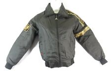 VTG Hondaline Goldwing motorcycle jacket bomber removable lining SMALL mens USA