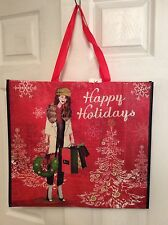 TJ MAXX Huge Fashion Shopper Shopping Gift Bag Tote NWT