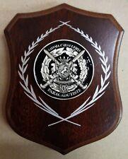 """Mini-Crest/Fermacarte """"REGGIMENTO SAVOIA CAVALLERIA (3°) /PARACADUTISTI FOLGORE"""""""
