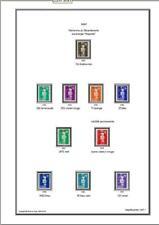 Album de timbres Mayotte 1892-2011 à imprimer