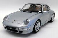 GT Spirit 1/12 Scale Resin - GT190 Porsche 911 993 Carrera 4S Silver