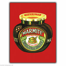 Metal Sign Wall Plaque Marmite Retro Vintage Pop-art Poster Art Picture Kitsch
