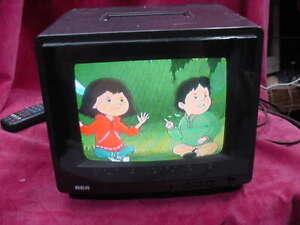 """Vintage 9"""" RCA XL-100 CRT 1987 Gaming Television EPR295E TV Retro Portable"""