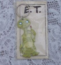 Vintage E.T. Key Ring 1980's in Original Package