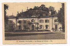 ferney-voltaire  le château de voltaire