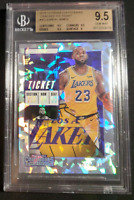 /25 Lebron James BGS 9.5 Cracked Ice Contenders 2018-19 Gem LAKERS! LOW POP