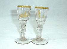 Zwei Gläser Schlesien 18 Jh. Glas