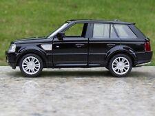 "Range Rover 5"" Car Model Toy Car Alloy Diecast Sound & Light Kids Gift Black New"