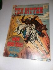 Tex Ritter Western #45 charlton comics 1959 silver age action adventure hero