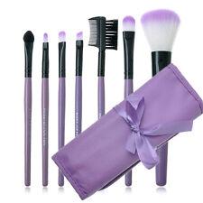 7pcs Popular Makeup Blush Eyeshadow Lip Brush Cosmetic Brushes Set Kit+Bag Case