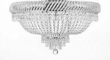 FLUSH 6LT 16x23 FRENCH EMPIRE CRYSTAL CHANDELIER LIGHTING FIXTURE CEILING LAMP