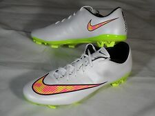 New Nike Mercurial Veloce II FG Soccer Cleats Boots White Volt Pink sz 12 651618