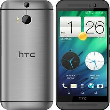 Android 5''Unlocked HTC One M8 32GB 4G LTE Quad-core Smart Phone - Gunmetal Gray