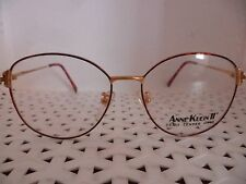 Anne Klein II Mod 206 Vintage 80's Unisex Eyeglasses (RJ13)