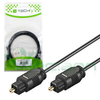 Cavo Techly cavetto ottico digitale audio TosLink 2m pr Apple TV 2 3 AC310