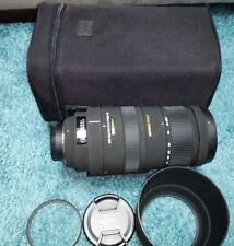 Sigma DG 120-400 mm F/4.5-5.6 OS DG HSM APO Objektiv für Nikon