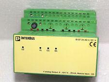 Phoenix CONTACT INTERBUS IB ST 24 AO 4/sf/4 analog output nr 2750578 id125 Top