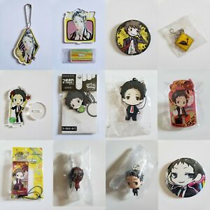 Persona 4 Acrylic, Rubber, Keychain, Badge, Pin, Stand (Adachi Tohru)