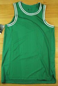 Nike NBA Aeroswift Blank Boston Celtics Green White Basketball Jersey AH8790-312