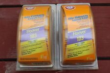 2 Arm & Hammer Hoover Whisper Cyclonic 103 HEPA  Odor Vacuum Filters 64203