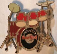 Hard Rock Cafe BIRMINGHAM 2001 DRUM Set KIT PIN Orange/Brown - HRC Catalog #1260