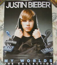 Justin Bieber My Worlds The Collection Taiwan Poster