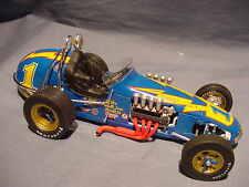 AL UNSER # 1 GMP JOHNNY LIGHTNING VINTAGE DIRT CHAMP RACE CAR 1:18 DIECAST ACME
