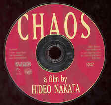 CHAOS DVD Kino Video Movie Hideo Nakata Ringu Director