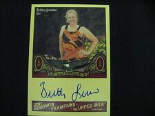 BRITTANY LINCICOME AUTO CARD--2011 GOODWIN CHAMPIONS
