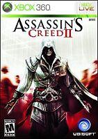 Assassin's Creed II (Microsoft Xbox 360, 2009) NEW