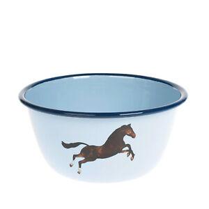 SELETTI WEARS TOILETPAPER Enamel Bowl Horse Contemporary Design