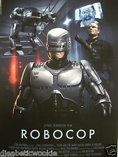 Robocop art print movie poster