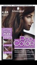 Coloration Schwarzkopf 4.68 Acajou foncé - Pro Color