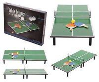 PING PONG TABLE TENNIS PADDLES BALL NET RACKETS KIDS INDOOR PLAY SET FUN