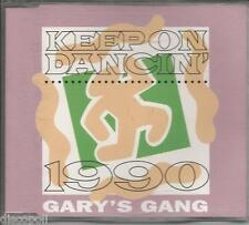 GARY'S GANG - Keep on dancing 1990 CDs SINGOLO 4 TRACKS