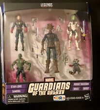 Marvel Legends Guardians of the Galaxy 5 Pack Toys R Us Exclusive TRU Groot GotG