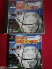 ADIDAS POWER SOCCER PLAYSTATION 1 ADIDAS POWER SOCCER PS1 PSONE PS2 PS3