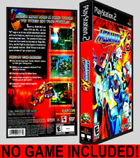 Mega Man X8  - PS2 Reproduction Art DVD Case No Game Playstation 2