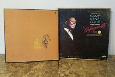 "The Nat King Cole Story 3 LP/Golden Treasury ""Unforgettable"" Longines Symphonett"