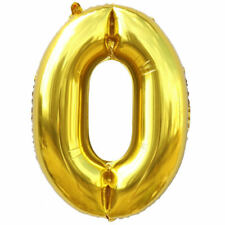 """40"""" Giant Foil Balloons Large Helium Number Wedding Birthday Party Souvenirs"""