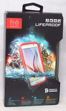 LifeProof FRE Samsung Galaxy S6 Waterproof Case -Retail Packaging -CUTBACK CORAL