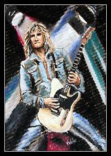Rick Parfitt Guitariste Fender Telecaster guitare statu quo Artprint Volker Welz