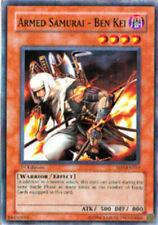 YUGIOH Armed Samurai - Ben Kei Warrior Equip Deck COMPLETE 40 Cards