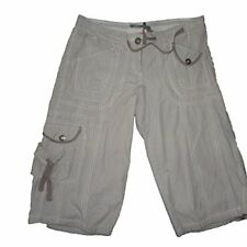 Pantalones cortos mujer , shorts de Creem, blanco , talla 38 - S
