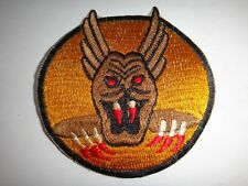 USAF 7th  FIGHTER Squadron 49th Operations Group SCREAMING DEMONS Patch Inactive