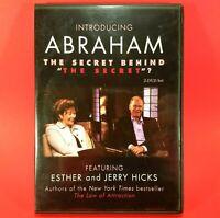 "Introducing Abraham: The Secret Behind ""The Secret""? DVD 2007 2-Disc Set - Hicks"