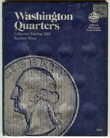 Whitman Washington Quarters Collection starting 1965 No. 3