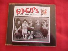GO-GO'S - THE WHOLE WORLD LOST IT'S HEAD - 4 TRACK CD IN GREAT CONDITION, 1994