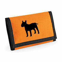 English Bull Terrier Gift Wallet Rip-Stop Choice of Colours Purse Birthday Xmas