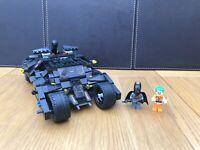DC Batmobile Batman Joker Justice League With Instructions Minifigures Fits Lego